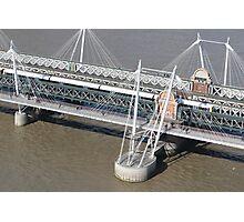 Golden Jubilee Bridge Photographic Print