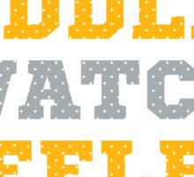 Let's Cuddle And Watch Steelers Football. Sticker
