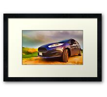 Ford Fiesta Framed Print