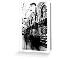 Royal Arcade Norwich Greeting Card