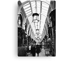 Royal Arcade Norwich Canvas Print