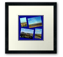Along a Rural Road in the Hebrides Framed Print
