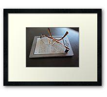 123 e-books Framed Print