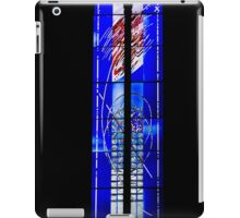 Abstract, Modern Stained Glass Window in an Ancient Church  iPad Case/Skin