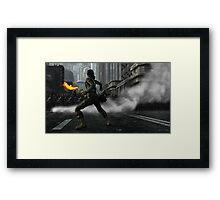 Rise Framed Print