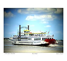 Creole Queen Steam Boat  Photographic Print