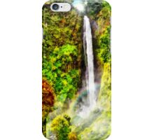 Waterfall - Digital Art Painting iPhone Case/Skin