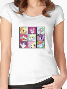All Of My Derp! Women's Fitted Scoop T-Shirt