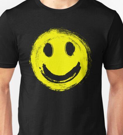 grunge smiley face Unisex T-Shirt