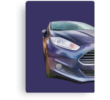 Ford Fiesta Canvas Print
