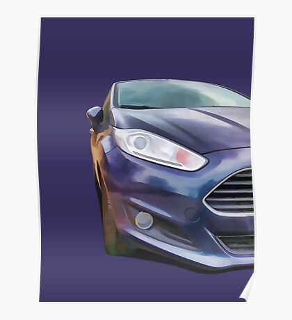 Ford Fiesta Poster
