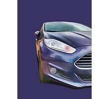 Ford Fiesta Photographic Print
