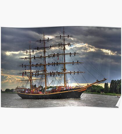 Tall Ships Race - Antwerp 2010 Poster