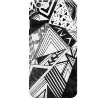 Abstract Art shapes (O) iPhone Case/Skin