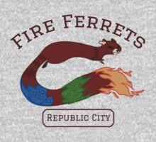 Republic City Fire Ferrets (Pro-bending) Kids Clothes