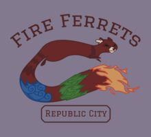 Republic City Fire Ferrets (Pro-bending) by gendrive