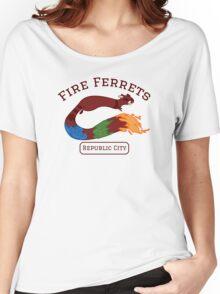 Republic City Fire Ferrets (Pro-bending) Women's Relaxed Fit T-Shirt