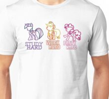 Twilight Sparkle Pinkie Pie Applejack Unisex T-Shirt