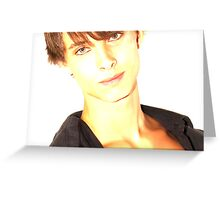 David - Lights Greeting Card
