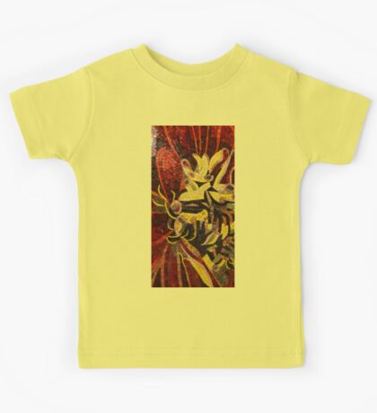 Imagination in Reds and Yellows Kids Tee