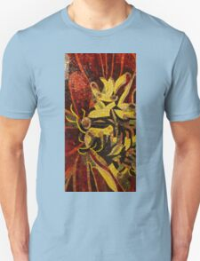 Imagination in Reds and Yellows Unisex T-Shirt