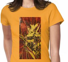 Imagination in Reds and Yellows Womens Fitted T-Shirt