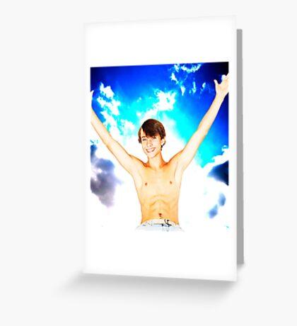 Sky Storm Greeting Card