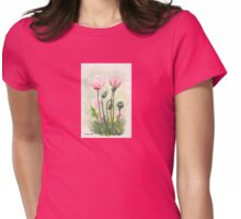 Pink Poppy Womens Fitted T-Shirt