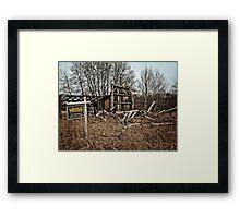 Real Estate Bargain!  Framed Print