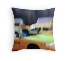 iconic ride Throw Pillow