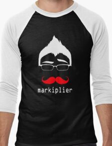 MARKIPLIER FACE Men's Baseball ¾ T-Shirt