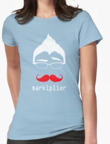 MARKIPLIER FACE Womens Fitted T-Shirt