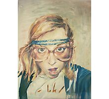 "retspih ""hipster girl"" Photographic Print"