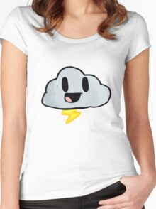 Happy Lightning Women's Fitted Scoop T-Shirt