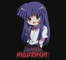 higurashi when they cry furude rika anime manga shirt by ToDum2Lov3