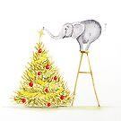 Elephant Decorating the Tree by Gillian Cross