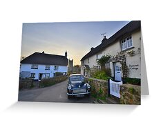 Dartmoor: Stepping Back in Time at Drewsteignton Greeting Card