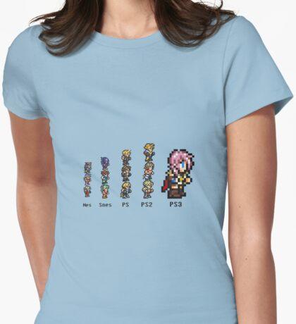 Final Evolution var 2 Womens Fitted T-Shirt