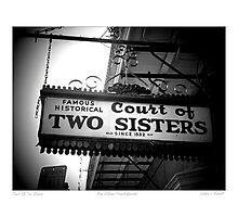 Court Of Two Sisters Photographic Print
