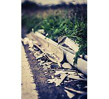 Broken Pipeline Photographic Print