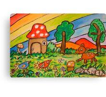 A Rainbow Place Canvas Print