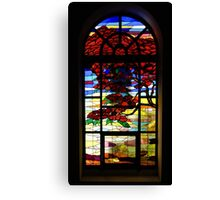 A Tale of Windows and Magical Landscapes Canvas Print