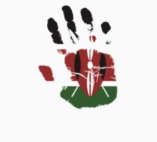 Flag Handprint - Kenya by SkinnyJoe