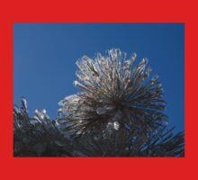 Ice Storm 2013 - Pine Needle Flower Baby Tee