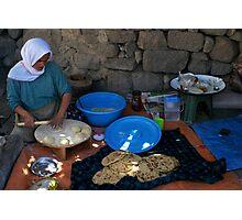Anatolian Village Bread Photographic Print