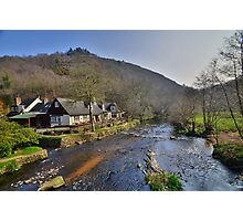 Dartmoor: The Angler's Rest at Fingle Rest Photographic Print