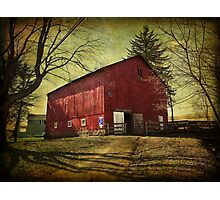 Equine Stables Photographic Print