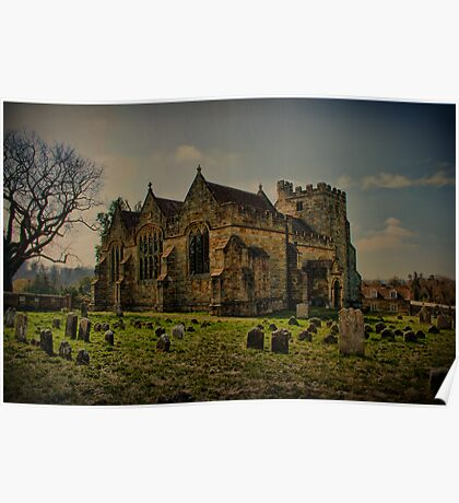 St Peter's Church, Ashburnham Poster