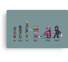 Final Evolution 2 Canvas Print