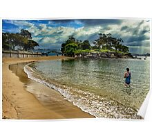 Balmoral Beach - Sydney Harbour Poster